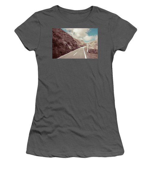 Paekakariki Hill Road Women's T-Shirt (Junior Cut) by Joseph Westrupp