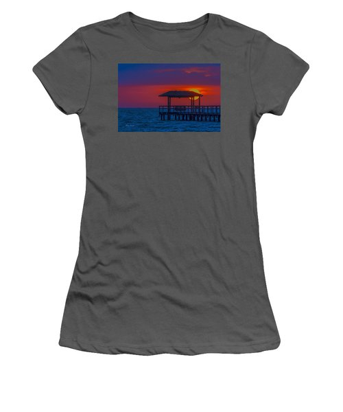 Palapa Del Sol Women's T-Shirt (Athletic Fit)