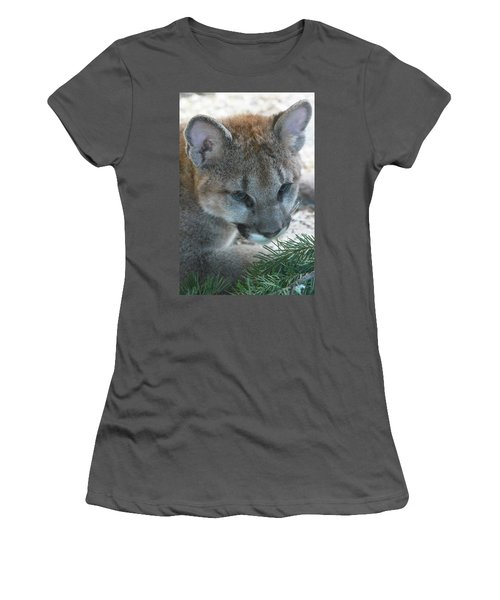Women's T-Shirt (Junior Cut) featuring the photograph Palus by Laddie Halupa