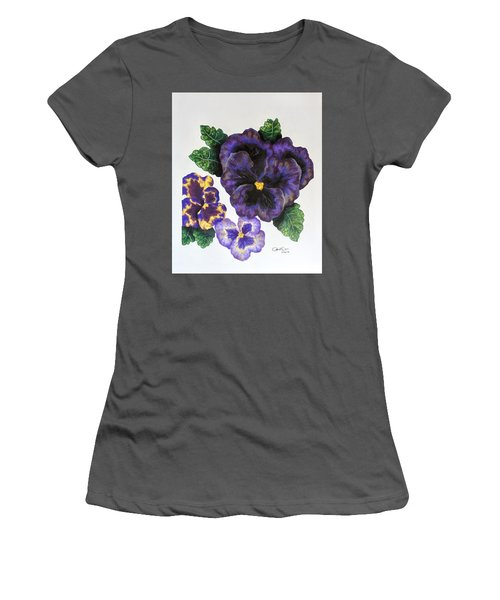 Pansy Women's T-Shirt (Athletic Fit)