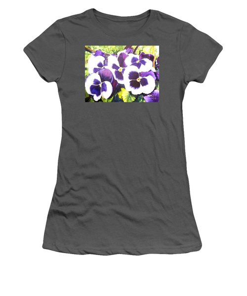 Pansy Party Women's T-Shirt (Athletic Fit)