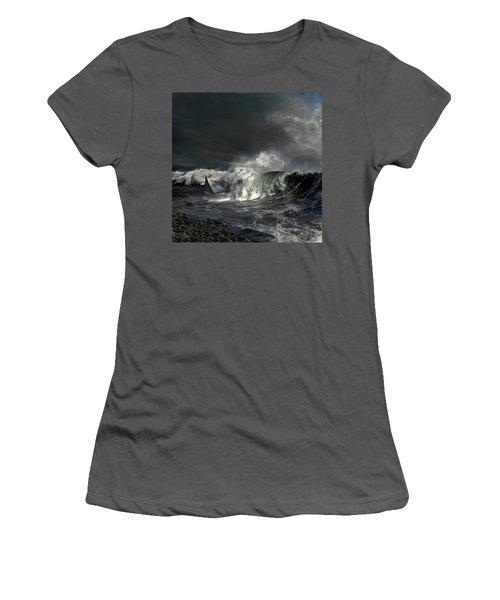 Paper Boat Women's T-Shirt (Junior Cut) by Evgeniy Lankin