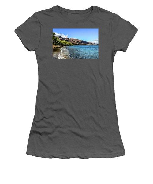 Women's T-Shirt (Junior Cut) featuring the photograph Paradise by Joann Copeland-Paul