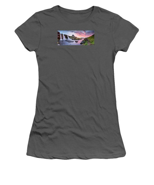 Paradise Lost - Large Panorama Women's T-Shirt (Junior Cut) by Brad Grove