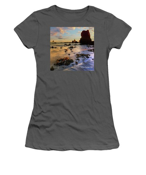Paradise On Earth Women's T-Shirt (Athletic Fit)
