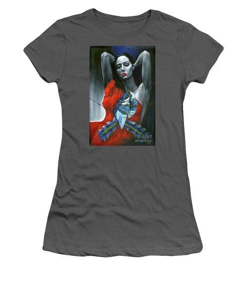 Pasion Por La Costumbre Women's T-Shirt (Junior Cut) by Jorge L Martinez Camilleri