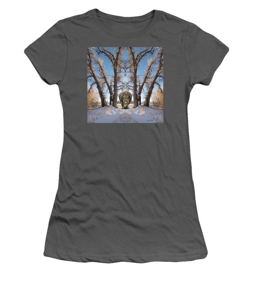 Password Required Women's T-Shirt (Athletic Fit)