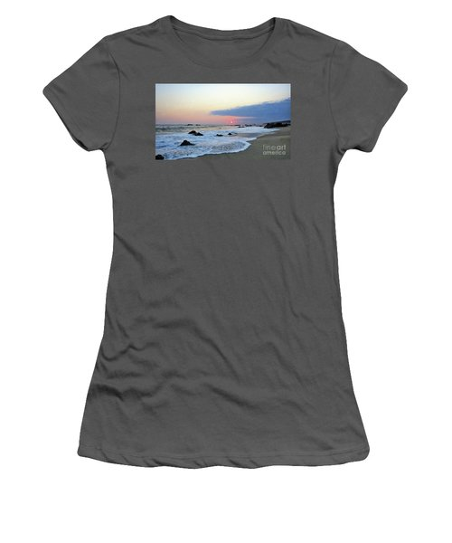 Women's T-Shirt (Junior Cut) featuring the photograph Pastel Blue by Victor K