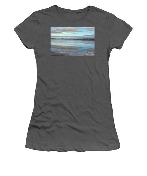 Pastel Landscape Women's T-Shirt (Athletic Fit)