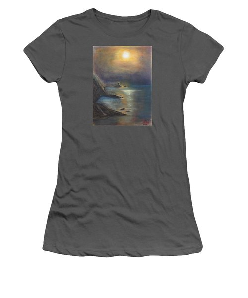Pastel Msc 002 Women's T-Shirt (Athletic Fit)