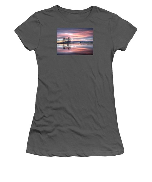 Pastel Sunrise Women's T-Shirt (Athletic Fit)