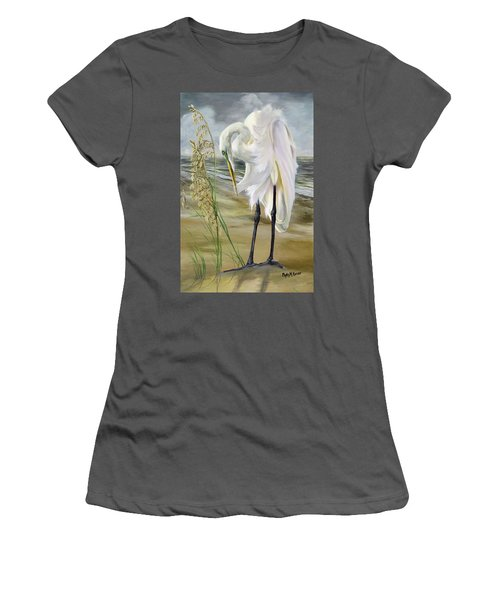 Peace In The Midst Of The Storm Women's T-Shirt (Junior Cut) by Phyllis Beiser