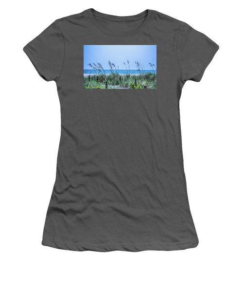 Peace Women's T-Shirt (Junior Cut) by Nance Larson