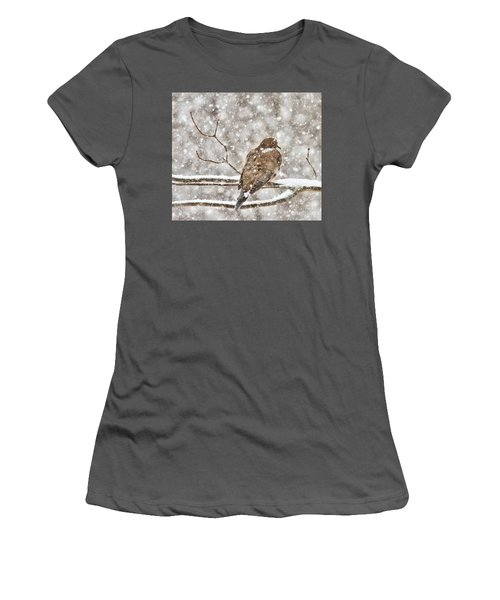 Women's T-Shirt (Athletic Fit) featuring the photograph Peaceful by Debbie Stahre