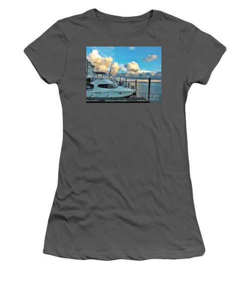 Peaceful Evening Walk  Women's T-Shirt (Athletic Fit)