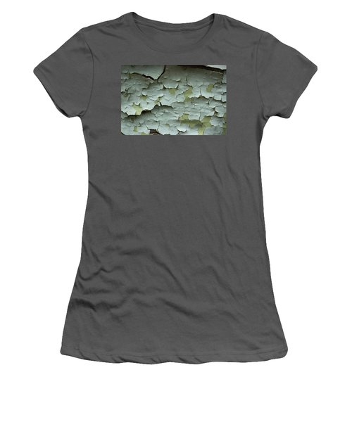 Women's T-Shirt (Junior Cut) featuring the photograph Peeling 2 by Mike Eingle