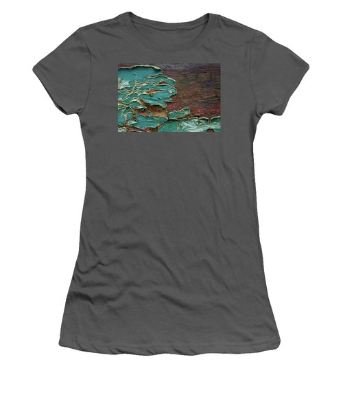 Women's T-Shirt (Junior Cut) featuring the photograph Peeling by Mike Eingle