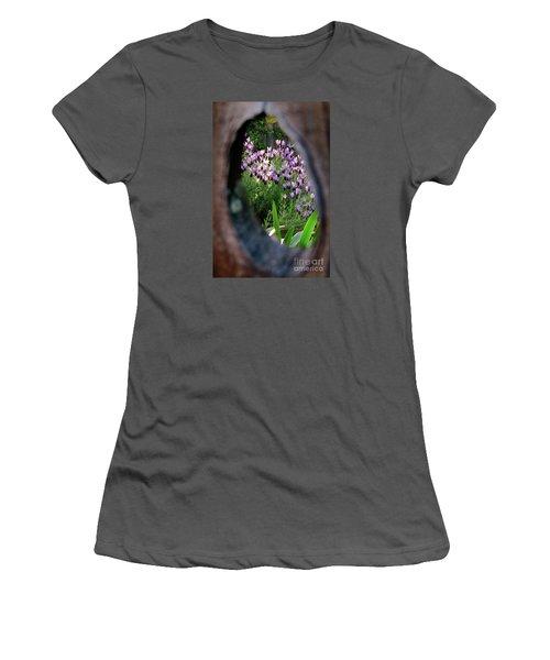 Peephole Garden Women's T-Shirt (Athletic Fit)