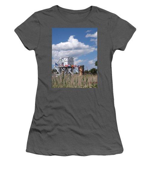 Pegasus Bridge Women's T-Shirt (Athletic Fit)