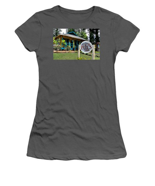Pele's Lanai Style Women's T-Shirt (Athletic Fit)