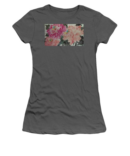 Peoney20161230_6246 Women's T-Shirt (Athletic Fit)