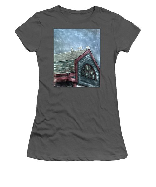 Perched Women's T-Shirt (Athletic Fit)