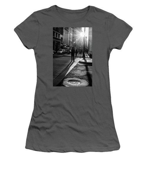 Philadelphia Street Photography - 0943 Women's T-Shirt (Junior Cut) by David Sutton
