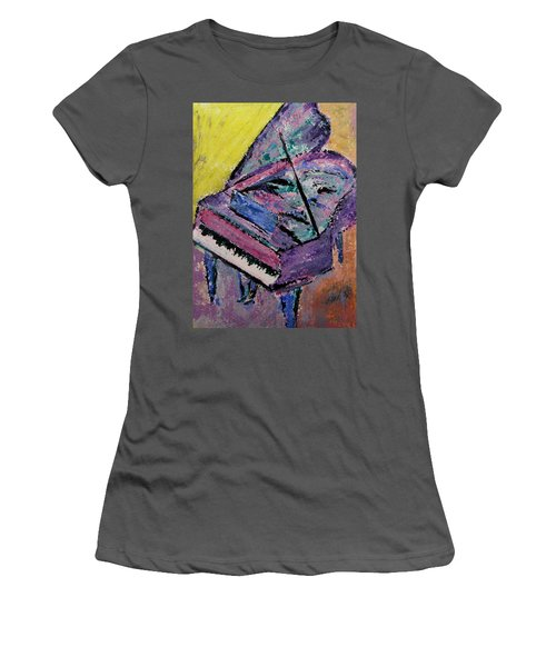 Piano Pink Women's T-Shirt (Athletic Fit)