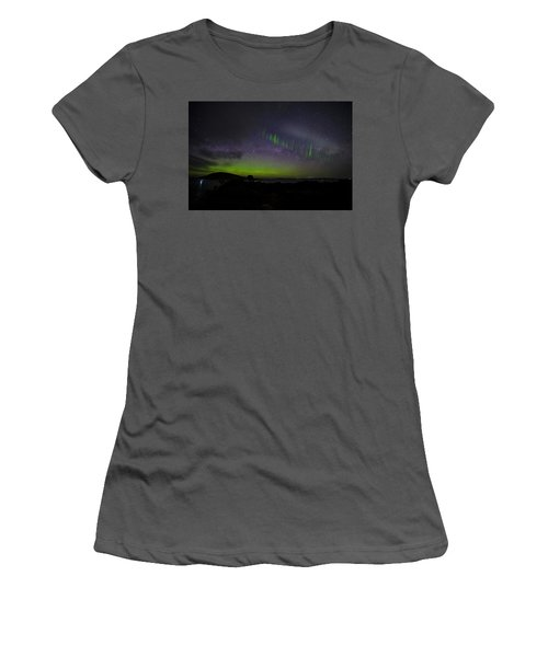 Women's T-Shirt (Junior Cut) featuring the photograph Picket Fences by Odille Esmonde-Morgan