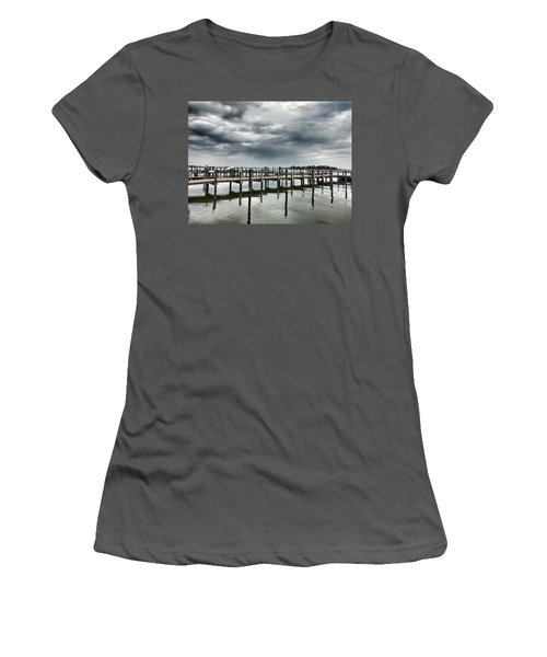 Pier Pressure Women's T-Shirt (Athletic Fit)