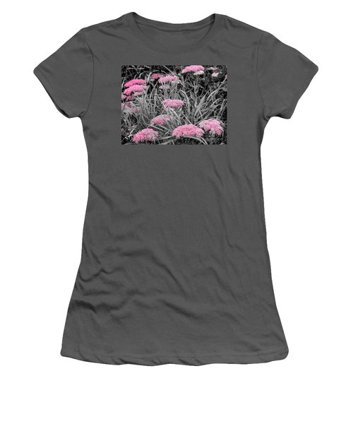 Pink Carved Cowslip Women's T-Shirt (Athletic Fit)