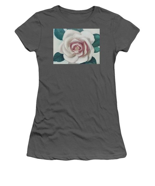 Pinky Flower Women's T-Shirt (Athletic Fit)