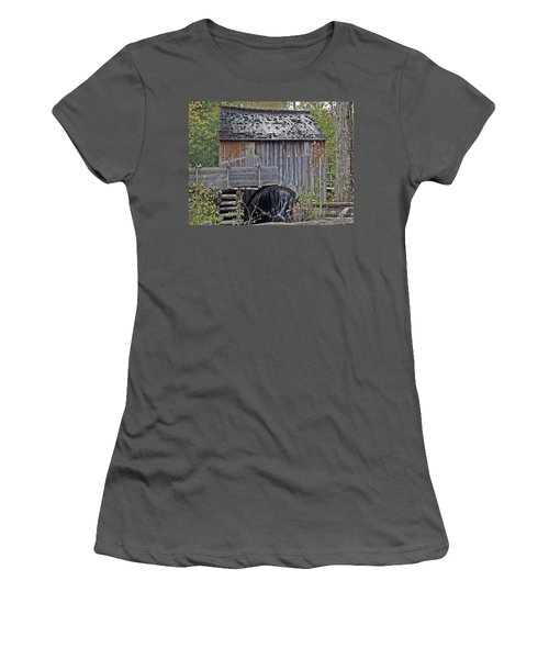 Pioneer Water Mill Women's T-Shirt (Athletic Fit)