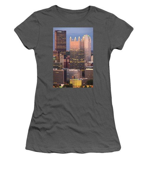 Pittsburgh 19  Women's T-Shirt (Athletic Fit)