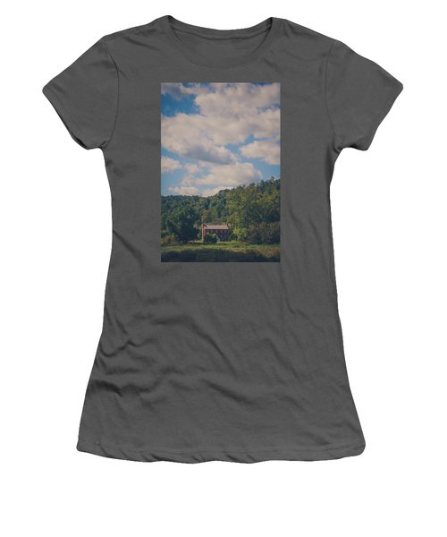 Women's T-Shirt (Junior Cut) featuring the photograph Plantation House by Shane Holsclaw