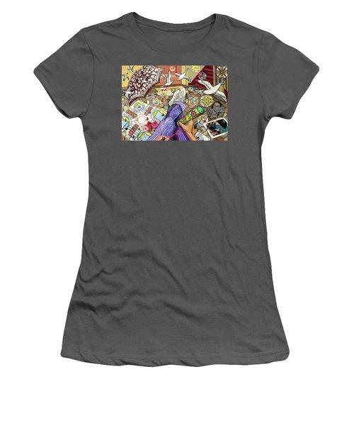 Play Women's T-Shirt (Junior Cut) by Bonnie Siracusa