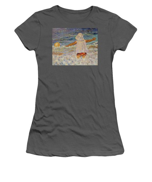 Play Women's T-Shirt (Athletic Fit)
