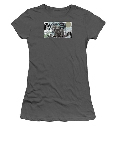 Playing On The Deck Women's T-Shirt (Athletic Fit)