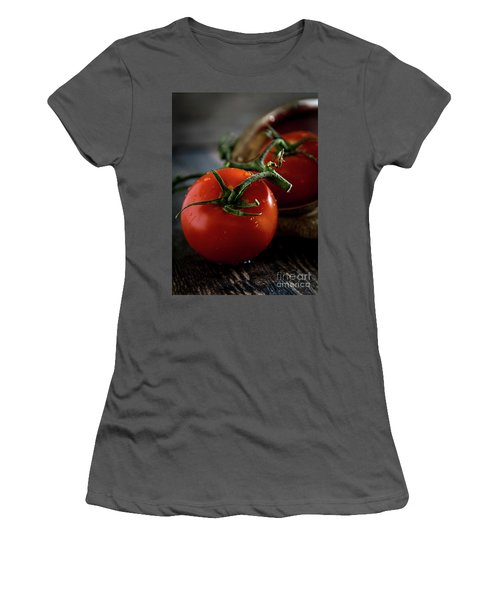 Plump Red Tomatoes Women's T-Shirt (Athletic Fit)