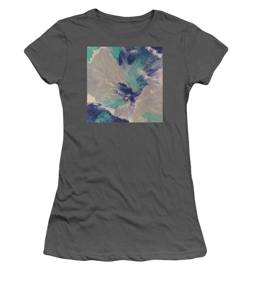 Plunge Women's T-Shirt (Athletic Fit)