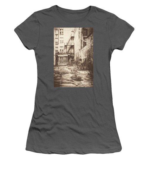 Poetic Deterioration Women's T-Shirt (Athletic Fit)