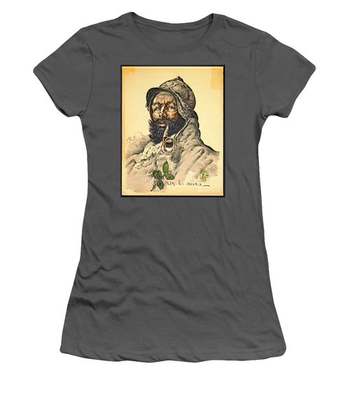 Poilu 1916 Women's T-Shirt (Junior Cut) by Padre Art