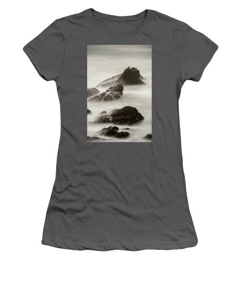 Women's T-Shirt (Athletic Fit) featuring the photograph Point Arena  by Dustin LeFevre