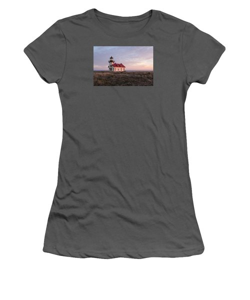 Point Cabrillo Light House Women's T-Shirt (Junior Cut) by Catherine Lau