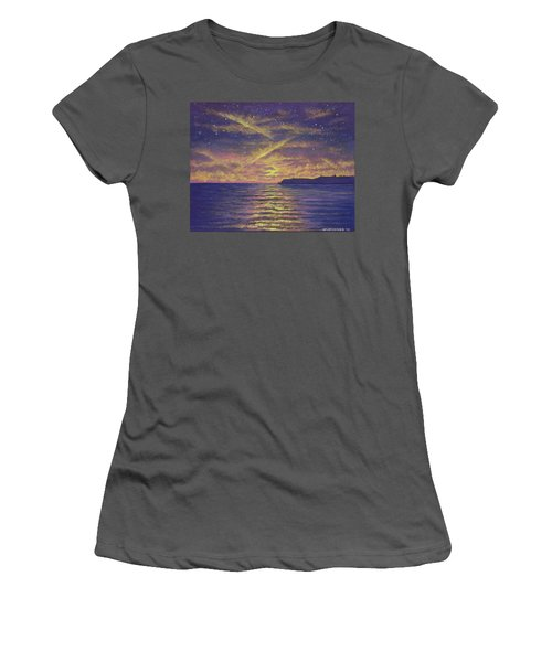 Point Loma Sunset 01 Women's T-Shirt (Athletic Fit)