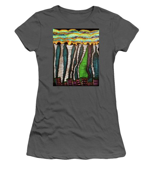 Poisoned Women's T-Shirt (Athletic Fit)
