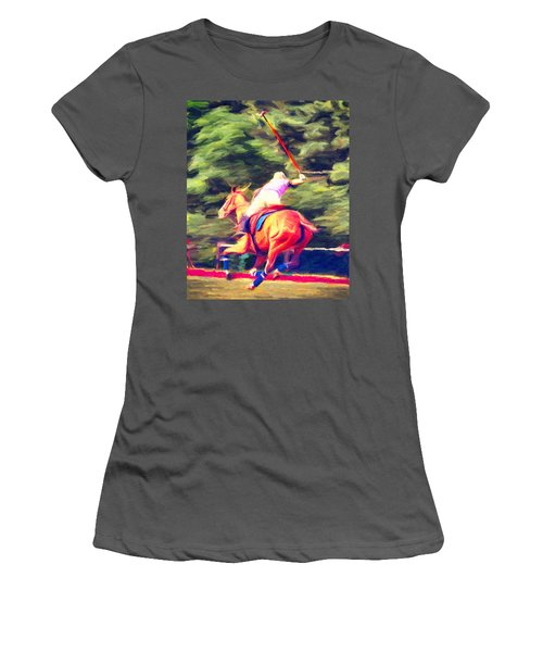 Polo Game 2 Women's T-Shirt (Athletic Fit)