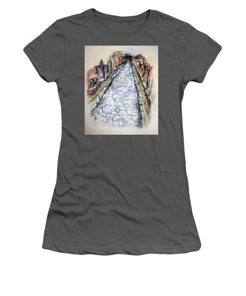 Pompeii Road Women's T-Shirt (Athletic Fit)