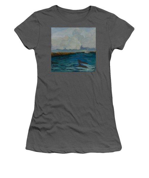 Pointe Aux  Chien Women's T-Shirt (Athletic Fit)