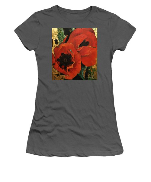 Poppygold Women's T-Shirt (Athletic Fit)